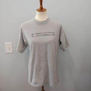 Dave Matthews Band 2002 Spring Tour T-Shirt M Gray